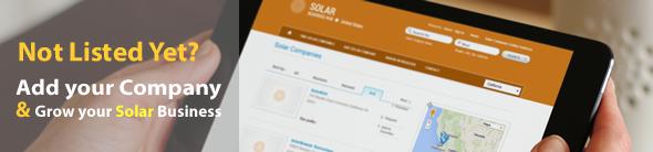 Add Solar Company Listing | Solar Business Directory | Europe